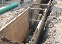 Letovice - vodovod a kanalizace v ul. Halasova