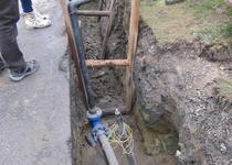 Valchov - zkapacitnění vodovodního řadu a rozšíření vodovodní sítě k Velenovu