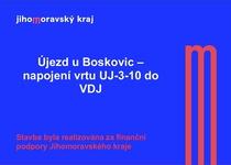 Újezd u Boskovic - napojení vrtu UJ-3-10 do VDJ