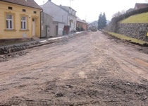 Blansko, Staré Blansko - vodovod a kanalizace v ul. Komenského