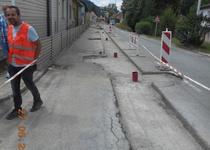 Boskovice, ul. Dukelská - oprava vodovodu a kanalizace