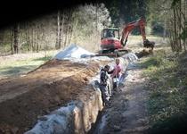Vranová-zásobení obce pitnou vodou napojením na vodovod Jásinov z VDJ Zábludov